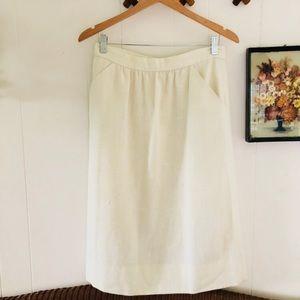 Handmade Vintage Midi Skirt